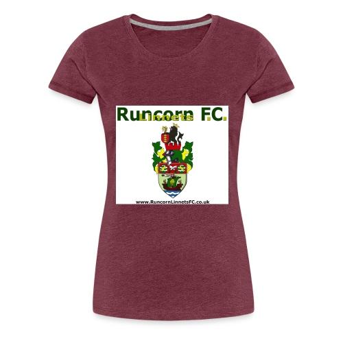 runcorn linnets logocrestwebsite120dpi - Women's Premium T-Shirt