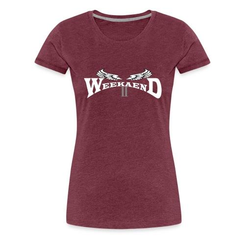 Weekaend Fan Shop - Frauen Premium T-Shirt
