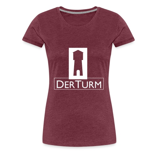 turmschwarz - Frauen Premium T-Shirt