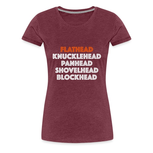 Flathead 2C - Vrouwen Premium T-shirt