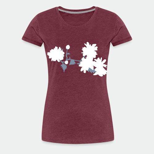 Asian flowers - Women's Premium T-Shirt