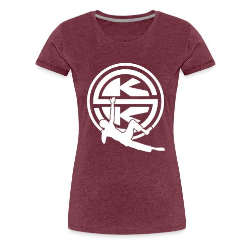 SKK_shield - Premium-T-shirt dam
