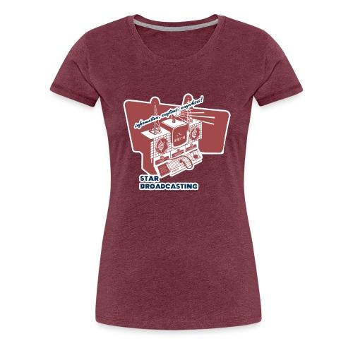 numbers stations hi - Women's Premium T-Shirt