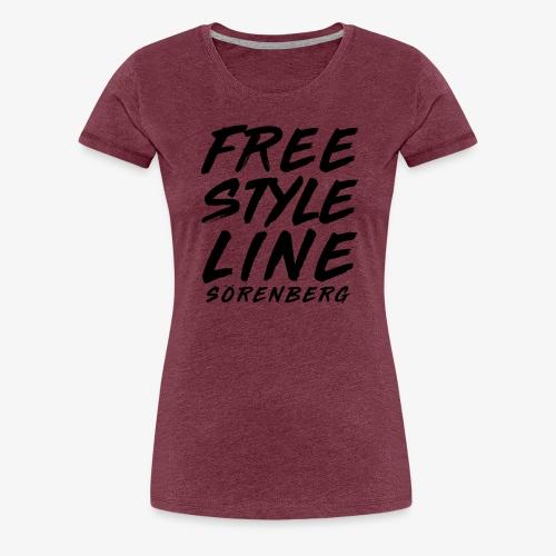 FS-Line brush black - Frauen Premium T-Shirt