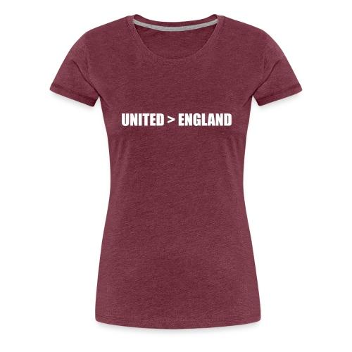 United > England - Women's Premium T-Shirt
