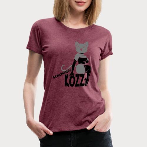 schoarfe Kozz - Frauen Premium T-Shirt