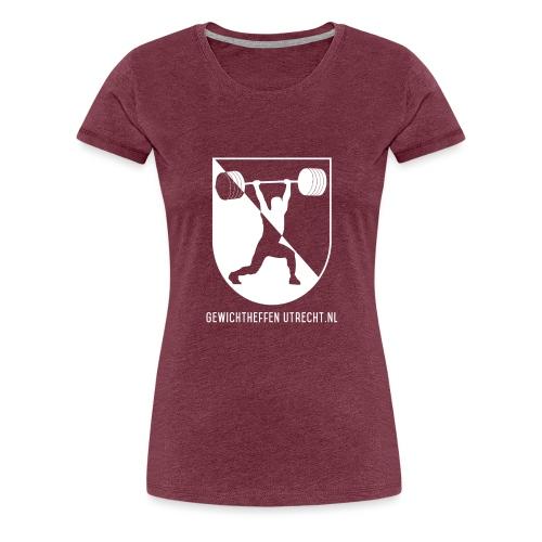 Gewichtheffen Utrecht Logo Shirt - Vrouwen Premium T-shirt