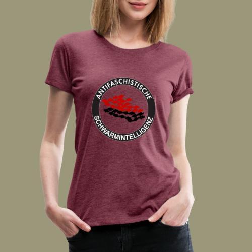 Antifaschistische Schwarmintelligenz - Frauen Premium T-Shirt
