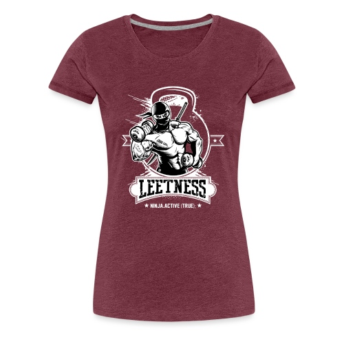Leetness - Men's sports shirt - Women's Premium T-Shirt