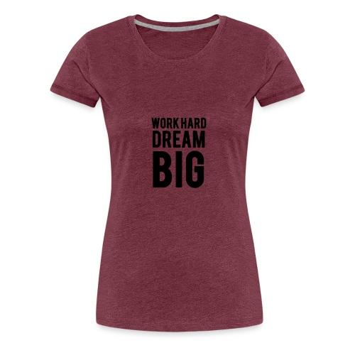 WORK - Camiseta premium mujer