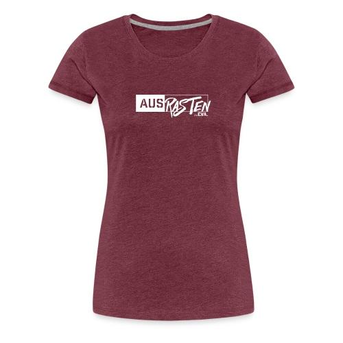 deEVA Ausrasten White Kollektion - Frauen Premium T-Shirt