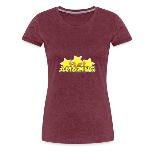 Amazing - Women's Premium T-Shirt