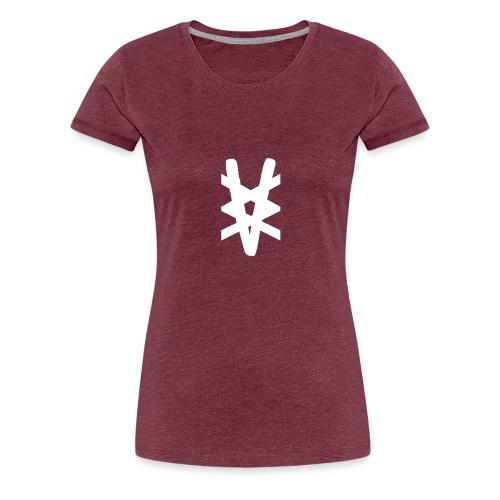 Vammabakken Merch Logga + Hoodie - Premium-T-shirt dam