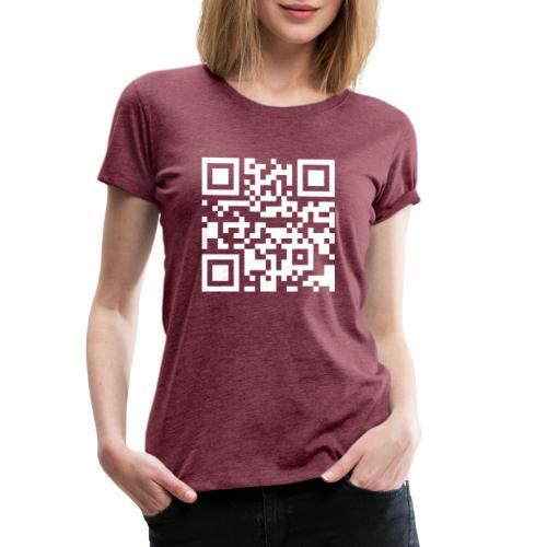 ADcase QR-Code - Frauen Premium T-Shirt