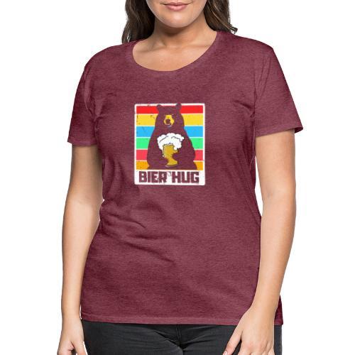 Bier Umarmung - Frauen Premium T-Shirt
