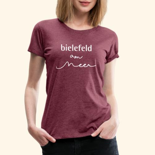 bielefeld am meer - Frauen Premium T-Shirt