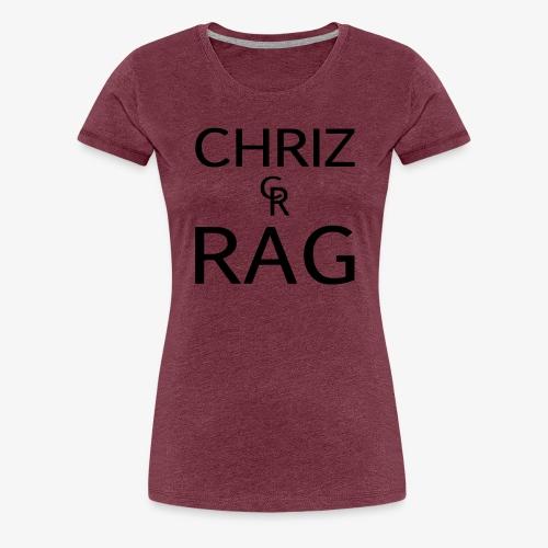 CR logo m - Frauen Premium T-Shirt