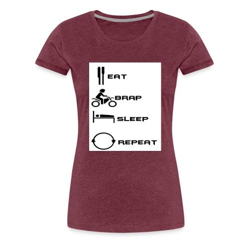 f5d7822bcfde665cde96eab539a8c410 jpg - T-shirt Premium Femme