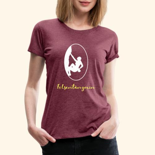 Felstaenzerin - Frauen Premium T-Shirt