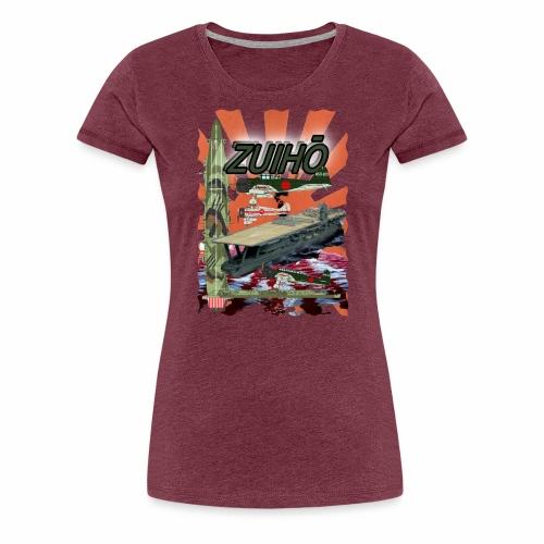 """""""Zuiho"""" Flugzeugträger - Frauen Premium T-Shirt"""