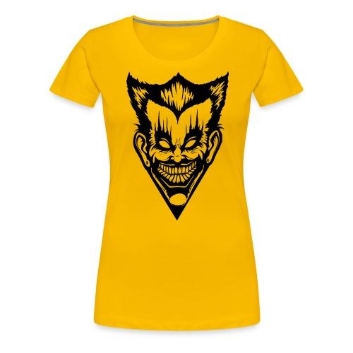 Horror Face - Frauen Premium T-Shirt