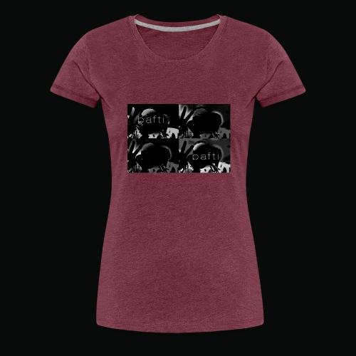 black bafti crew - Dame premium T-shirt