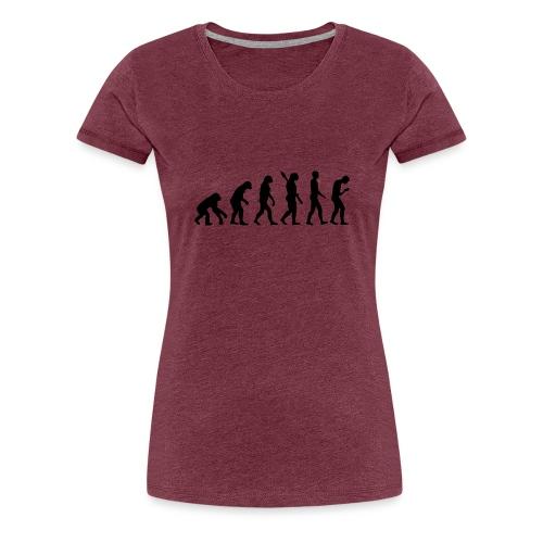 Development of the smartphone zombie / smombie - Women's Premium T-Shirt