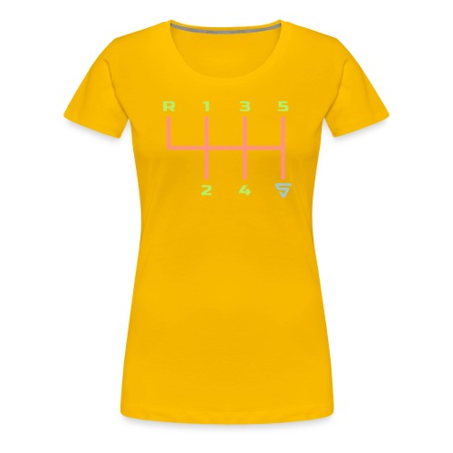 Shift it ! - T-shirt Premium Femme