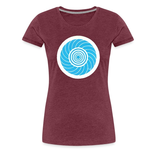 Crop circle ou cercle de culture du 29 Avril 2009 - T-shirt Premium Femme