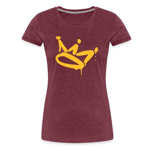Ik ben Crown v2 - Vrouwen Premium T-shirt