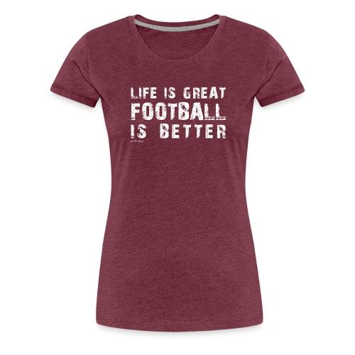 IFLMshirt_Life - Maglietta Premium da donna