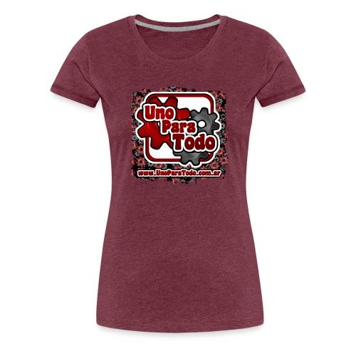 Remera Uno Para Todo mas web - Camiseta premium mujer