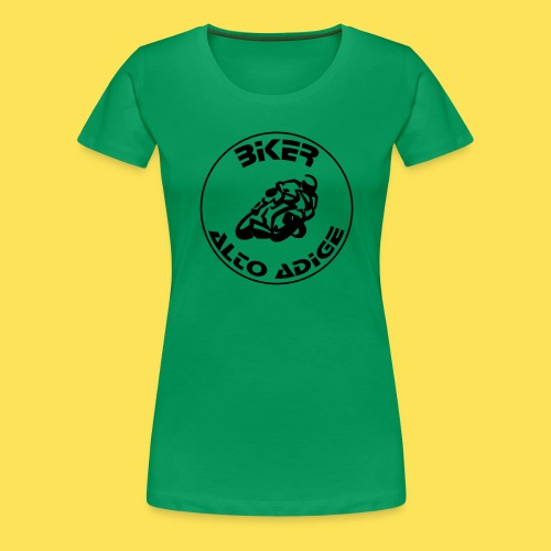 BikerAltoAdige Circle - Maglietta Premium da donna