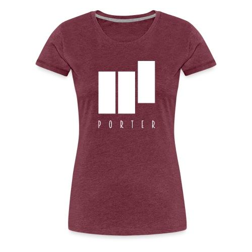PORTER Sign White - Frauen Premium T-Shirt