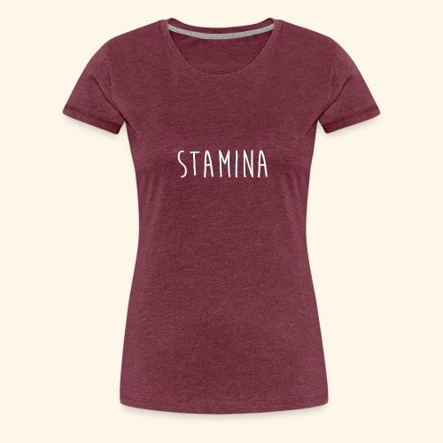 STAMINA - T-shirt Premium Femme