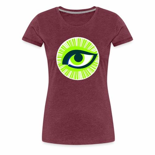 Auge - Frauen Premium T-Shirt