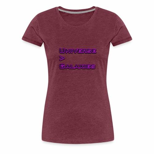 Universe > Galaxies - Women's Premium T-Shirt