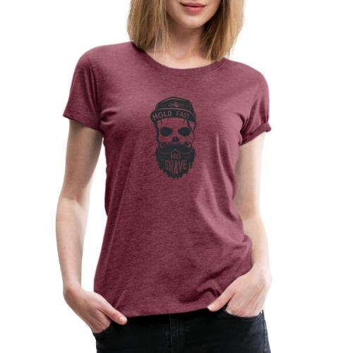 No Shave - Frauen Premium T-Shirt
