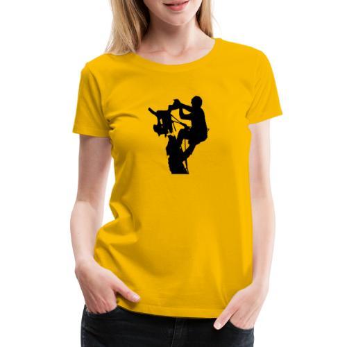 Arborist Baumpfleger - Frauen Premium T-Shirt