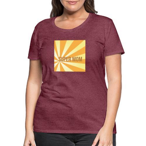 supermom maske2 - Frauen Premium T-Shirt