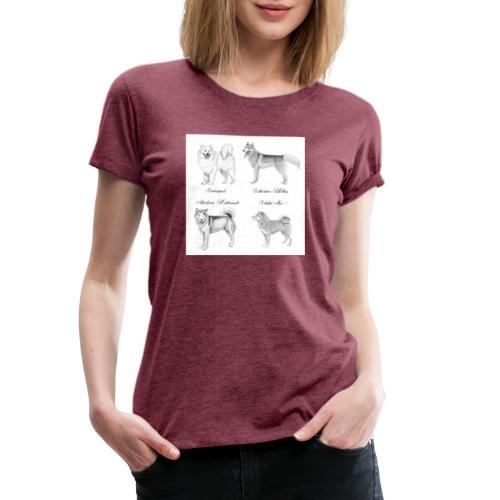 spitzdog poster - Dame premium T-shirt