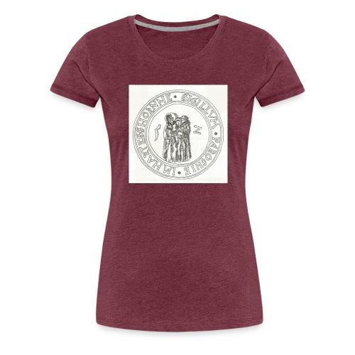 Herzhorn Siegel von 1552 - Frauen Premium T-Shirt