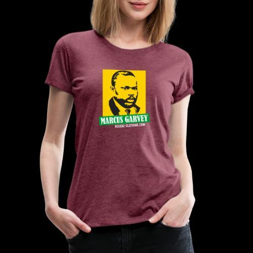 MARCUS GARVEY YELLOW GREEN SUBMARINE - Frauen Premium T-Shirt