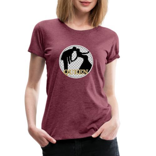 Queen mit Paar - Frauen Premium T-Shirt