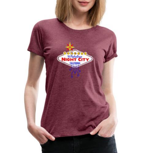 Cyber Punk Night City 2077 - Frauen Premium T-Shirt