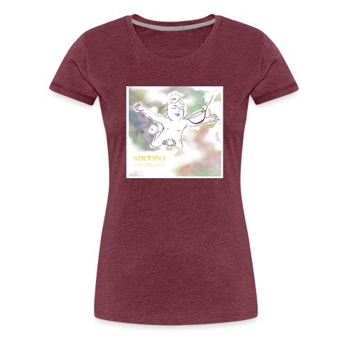 Nirvana - T-shirt Premium Femme