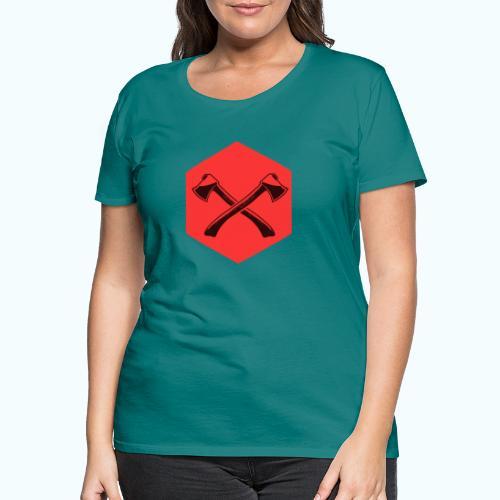 Hipster ax - Women's Premium T-Shirt