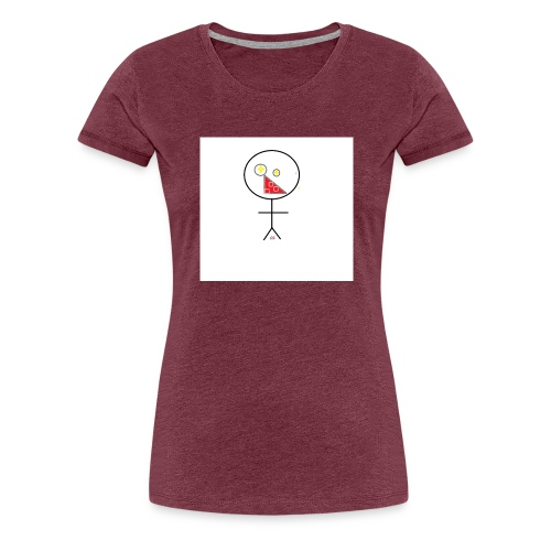 strekmann - Premium T-skjorte for kvinner