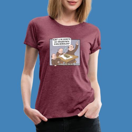 Pubquiz in de Abdij - Vrouwen Premium T-shirt