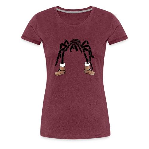 Christmas- Spider - Frauen Premium T-Shirt